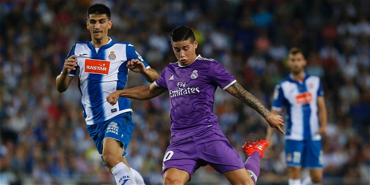 Espanyol, un rival ideal para James Rodríguez en la Liga de España