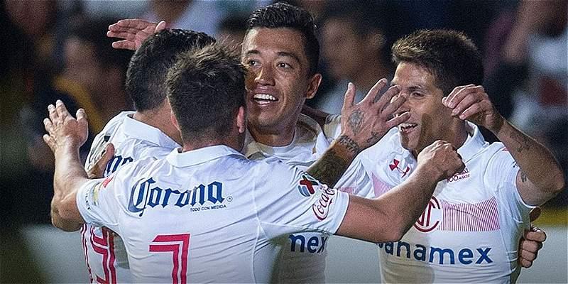 Uribe aportó gol para que Toluca siga líder: vencieron 1-2 a Morelia