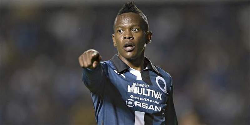 Yerson Candelo volvió al gol en México: Queretaro venció 1-4 a Necaxa
