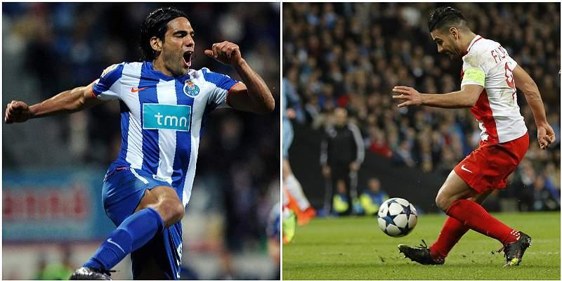 La decena de goles de Radamel Falcao García en la Champions League