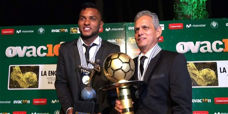Borja y Rueda recibieron sus premios como los \'Mejores de América\'