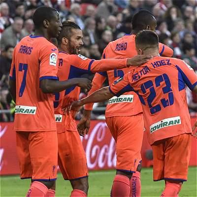Adrián Ramos fue titular en la derrota 3-1 de Granada contra Athletic
