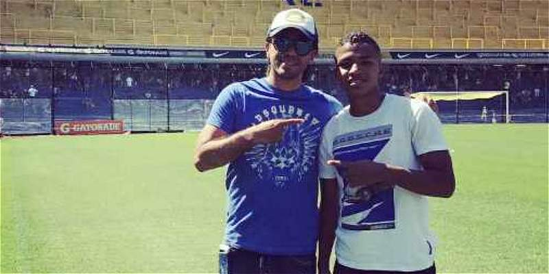 Jhon Solís, el juvenil que se fue a probar y quedaría en Boca Juniors
