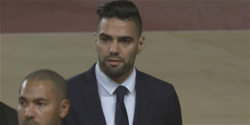 Radamel Falcao García Mónaco Champions
