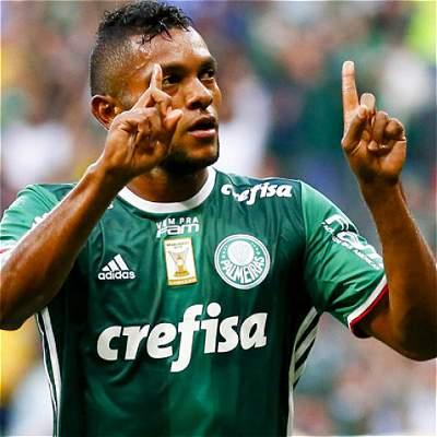 Borja, el futbolista que más vende camisetas en Palmeiras, de Brasil