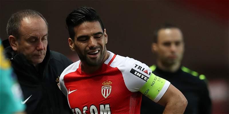 Falcao, duda para final de la Copa de la Liga de Francia contra PSG