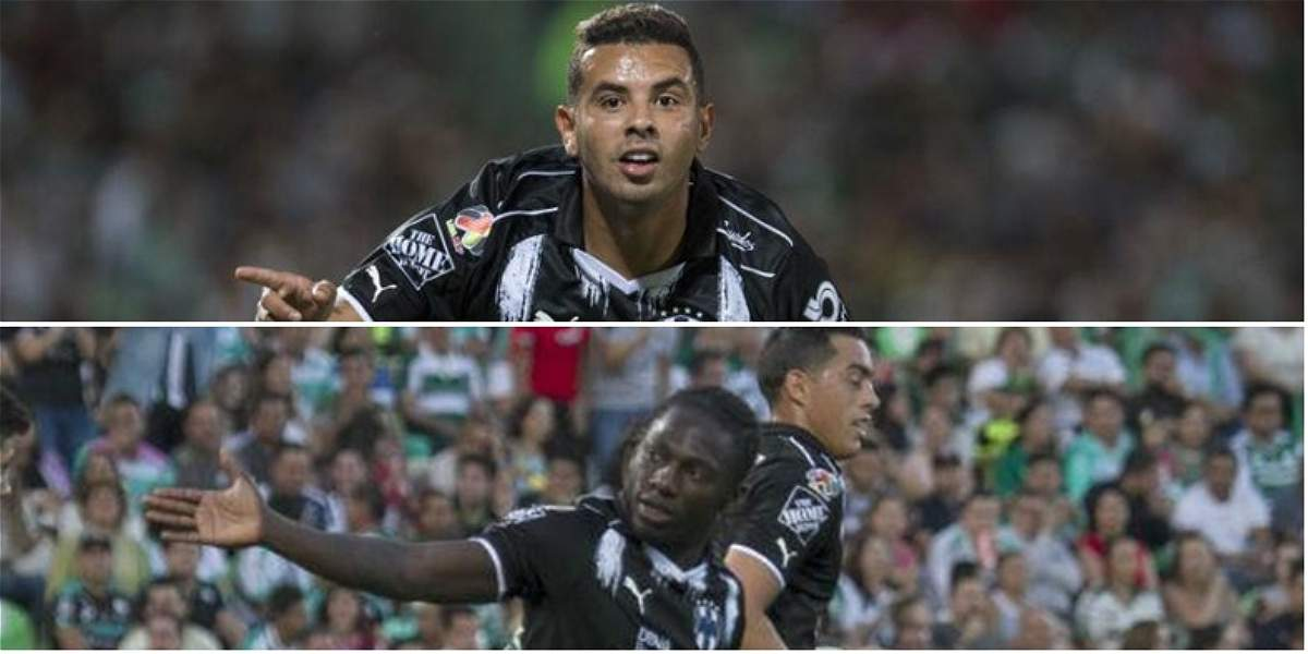 Cardona y Chará anotaron en 2-2 del Monterrey frente a Santos Laguna