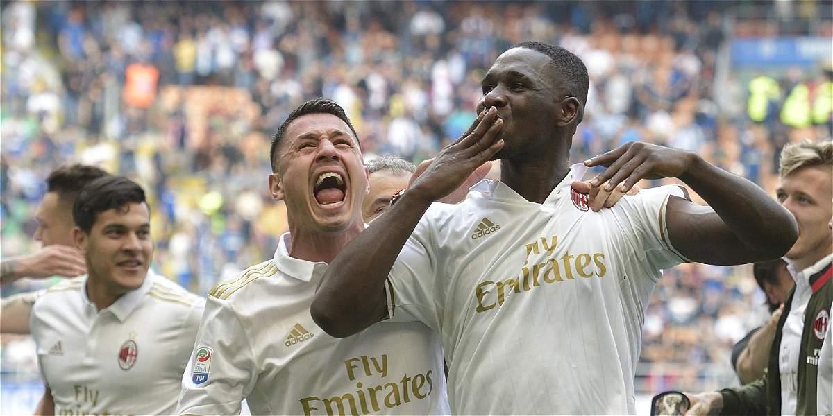 Cristian Zapata 'salvador': anotó gol del 2-2 del Milan frente a Inter