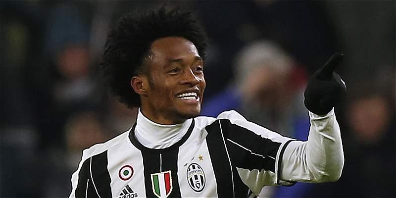 Cuadrado, premiado como el jugador más importante de Juventus en marzo