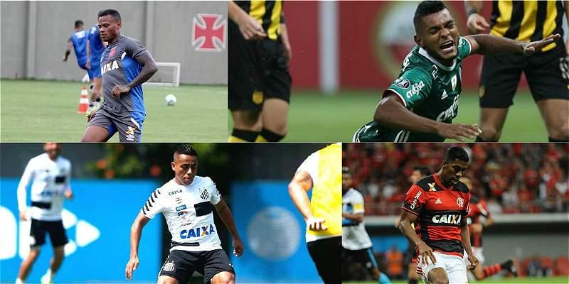 Operación Brasil: un difícil comienzo para los futbolistas colombianos