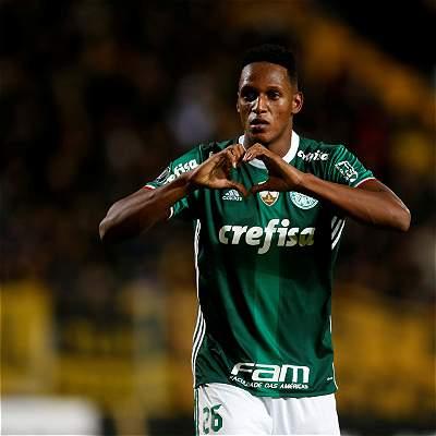 Con gol de Mina, Palmeiras logró la remontada y venció 2-3 a Peñarol