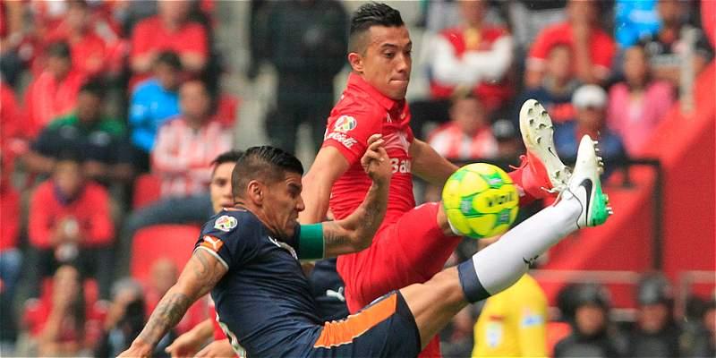 Gol de Fernando Uribe