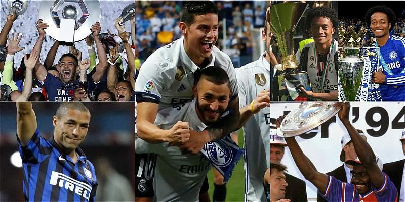 Los colombianos ya se coronaron en las cinco grandes ligas de Europa