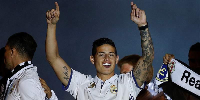 \'Estamos en el Real Madrid para conseguir títulos\': James Rodríguez