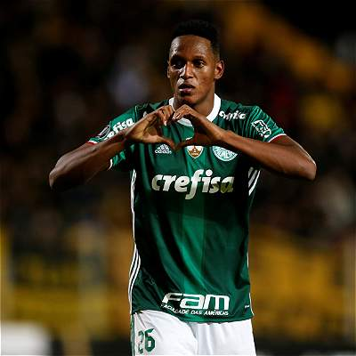 Con gol de Yerry Mina, Palmeiras venció 2-4 al Bahía en el Brasileirao