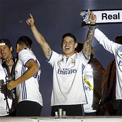 James Rodríguez tiene 'luz verde' para continuar con Real Madrid