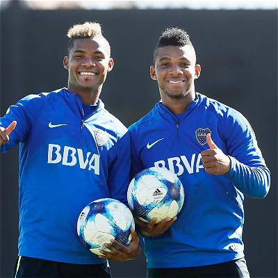 Wílmar Barrios y Frank Fabra, campeones en Argentina con Boca Juniors
