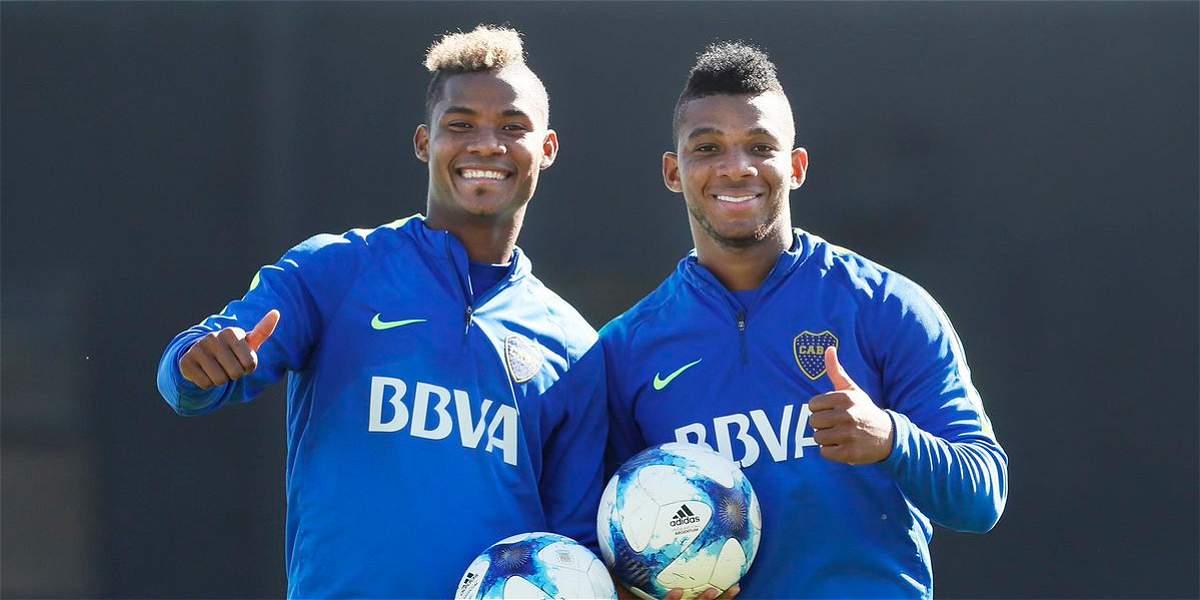 Wlmar Barrios Y Frank Fabra Campeones En Argentina Con