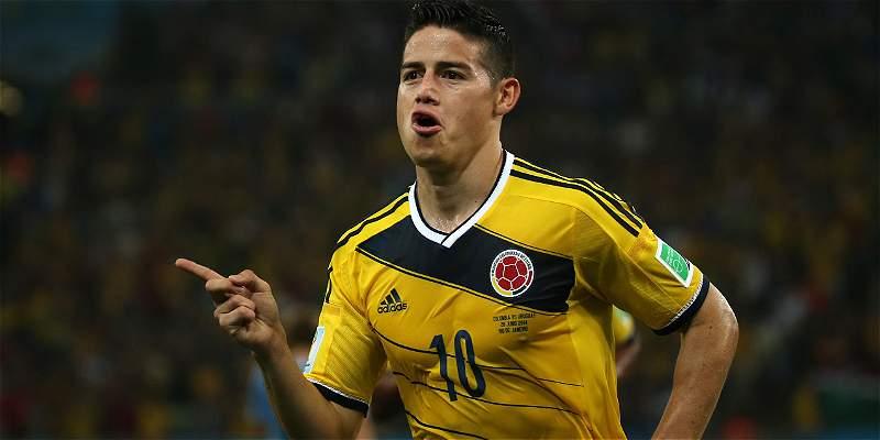 James recordó su golazo a Uruguay en el Maracaná: se cumplen tres años