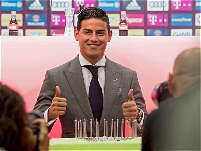 James Rodríguez presentación Bayern /GALERÍA
