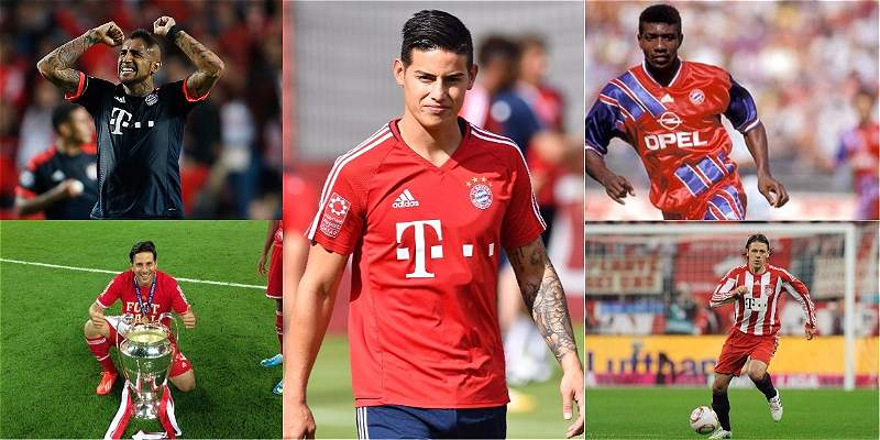 Suramericanos Bayern Múnich