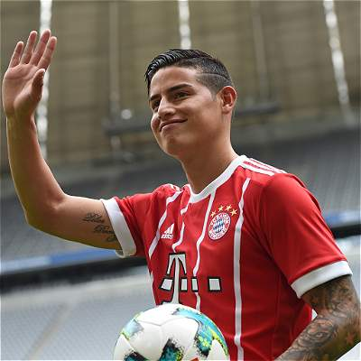 James Rodríguez, en Bayern Munich