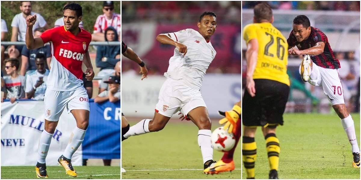 Un comienzo prometedor de los goleadores colombianos en pretemporada