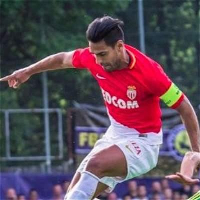 Falcao fue titular en la derrota del Mónaco 2-1 frente al Sporting