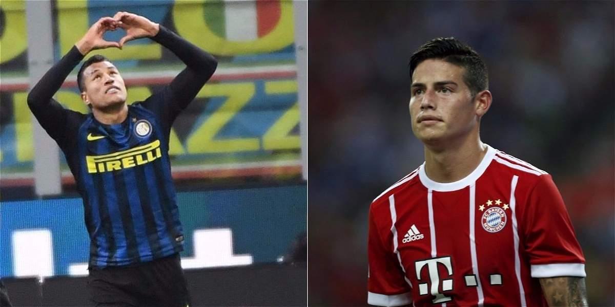 Murillo vs. James, el duelo colombiano en la Champions Cup de Asia