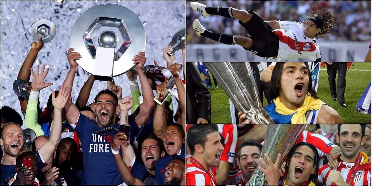 Falcao, por su décimotercer título de clubes: la Supercopa de Francia