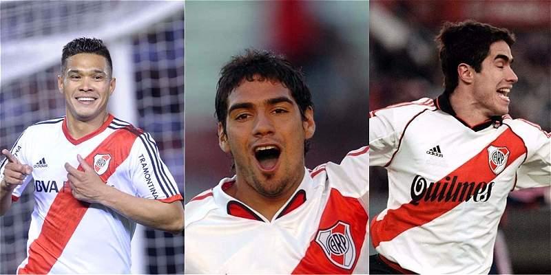 Delanteros colombianos en River Plate