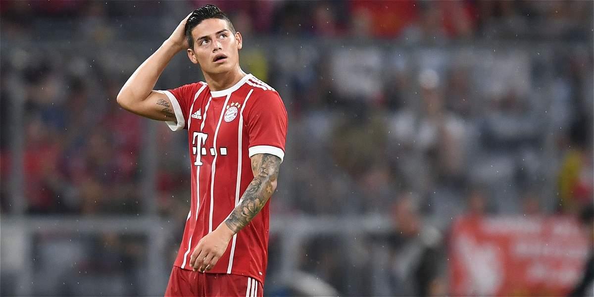 James y una realidad conocida: Bayern Múnich no parece necesitarlo