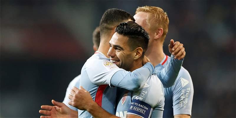 ¡Falcao imparable!: doblete en la victoria 0-4 de Mónaco sobre Lille