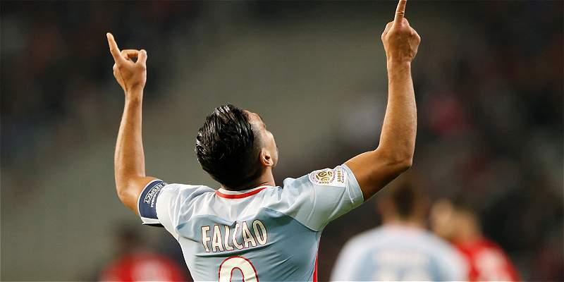 Los goles de Falcao vuelven a ponerlo en el equipo ideal de Europa
