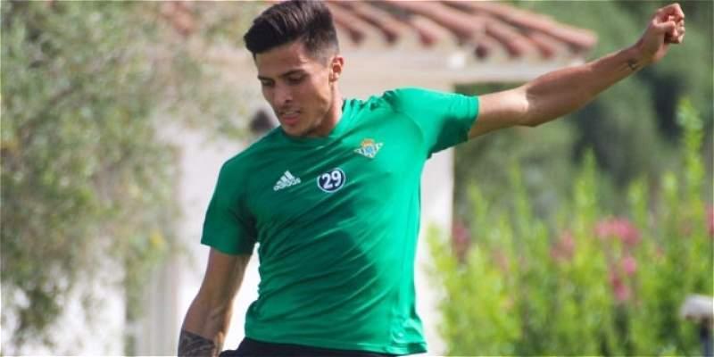 El colombiano Narváez vuelve a trabajar con el grupo en el Betis