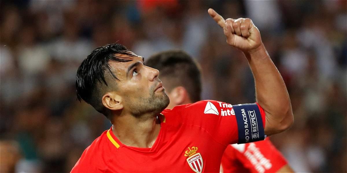 Falcao, el mejor calificado tras 10 jornadas en la Liga de Francia
