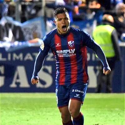 El 'Cucho' Hernández sigue encendido con el gol en el Huesca,en España