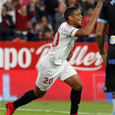 Muriel se reportó con gol en el triunfo 2-1 de Sevilla sobre Celta
