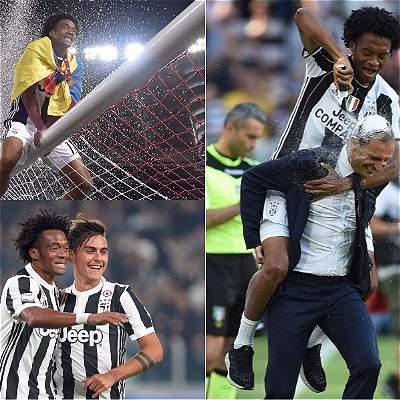 100 partidos de Cuadrado con Juventus