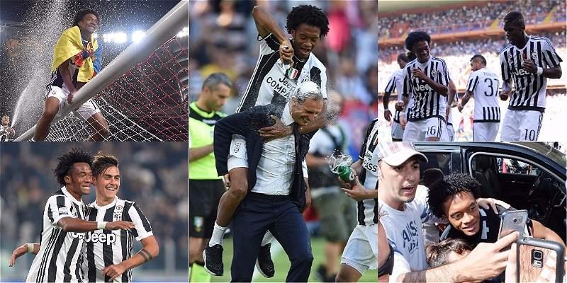El centenario de Cuadrado en Juventus en datos: ¡Felicidades \'panita\'!