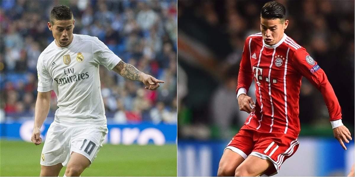 James tiene en Bayern una continuidad que no vivía hace casi dos años