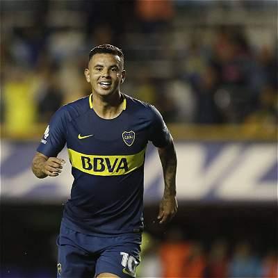 Cardona marcó gol con Boca en triunfo 2-0 sobre Arsenal de Sarandí