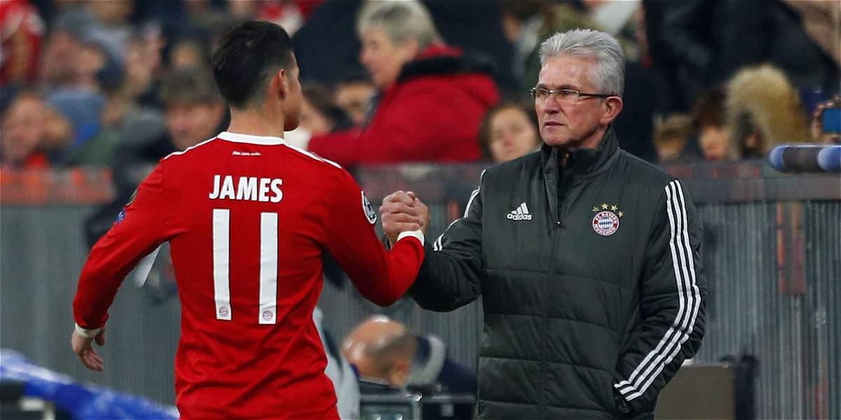 'Bayern es un club grande y siempre toca estar a tope': James