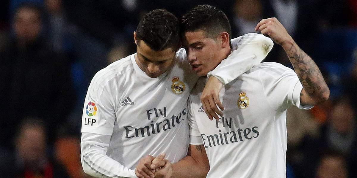 James sobre Cristiano: 'No para de superarse durante su carrera'