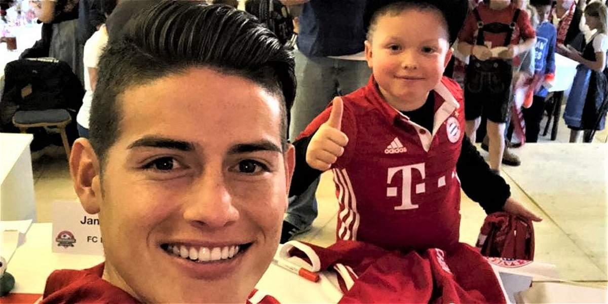 James: el regalo navideño para los aficionados del Bayern Múnich