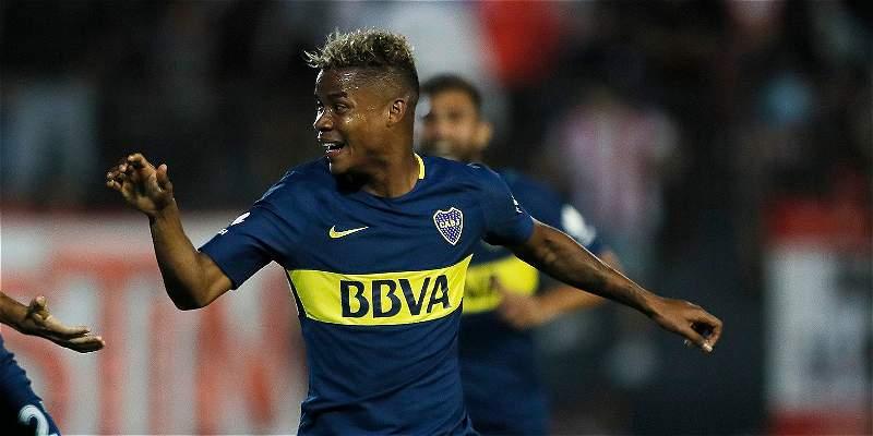 Con gol de Barrios, Boca ganó 0-1 y terminó el año como único líder