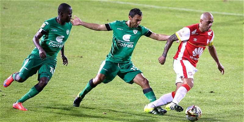Santa Fe también \'vuela\' en Copa: venció 1-0 a Equidad y clasificó