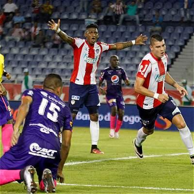 Junior venció 3-0 a Medellín Copa Colombia