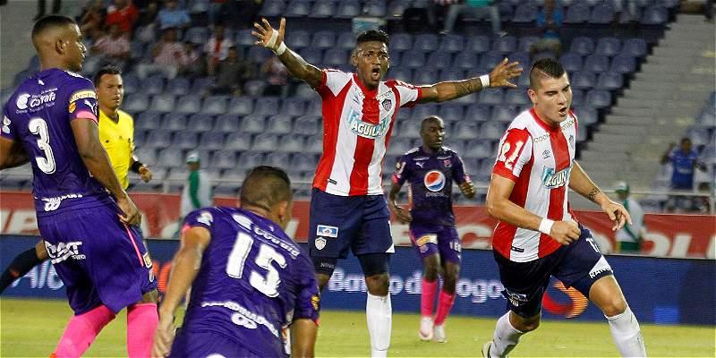 Junior fue contundente en Copa Colombia: derrotó 3-0 a Medellín