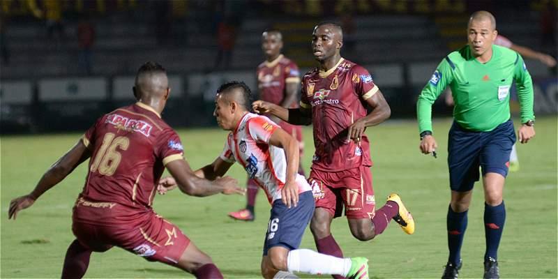 Tolima y Junior no se sacaron diferencia en la Copa: igualaron 0-0